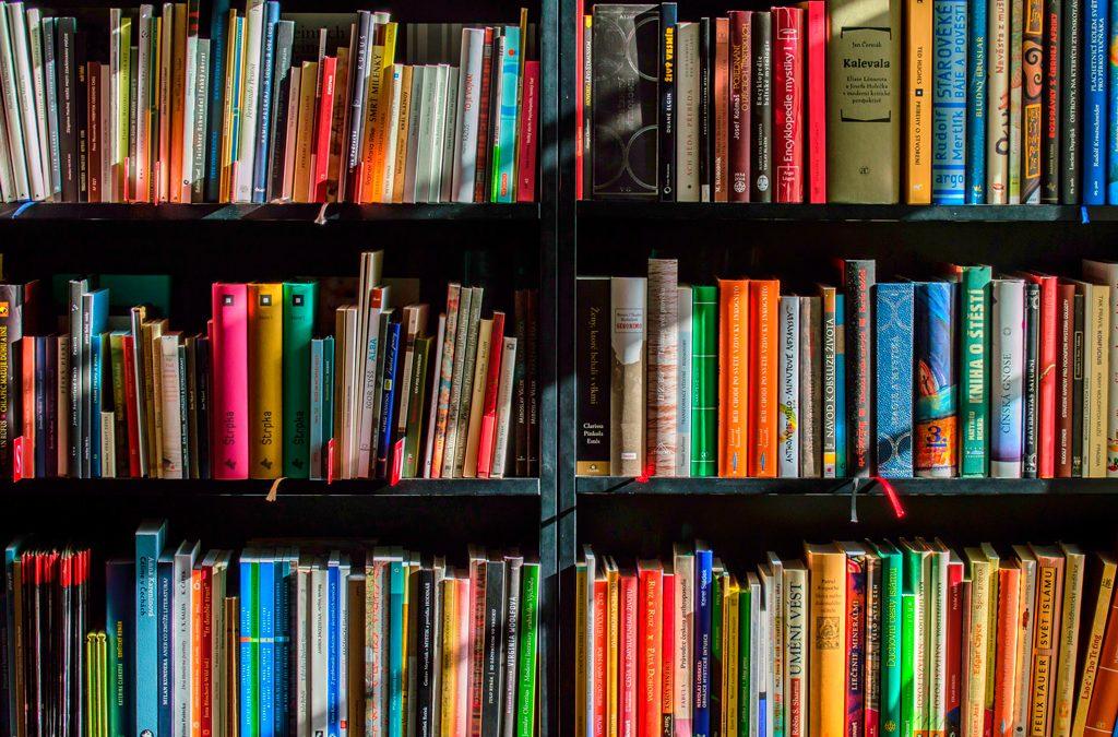 Sección de libros recomendados a profesionales